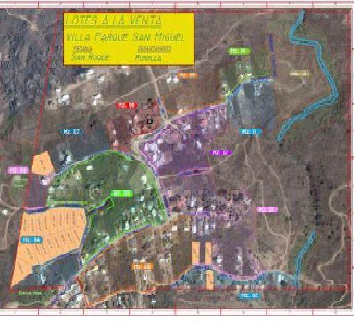 Lotes de terreno en Villa Parque San Miguel